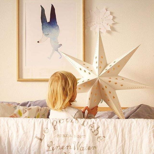 Wanderer Rabbit 🐰 new poster for kids room available in my online shop, link in profile #christmasiscoming ✨#star 🌟