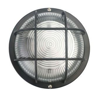 Handson Bull-Eye wandlamp rond zwart | Wandlampen | Buiten- & tuinverlichting | Verlichting | KARWEI