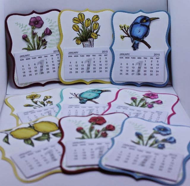 Creating Cards with Andrea: Calendars