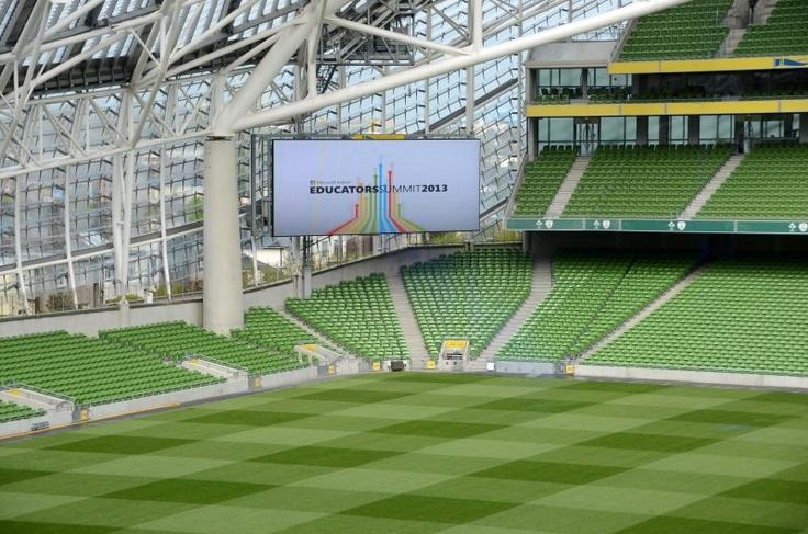 Microsoft Summit at the Aviva Stadium