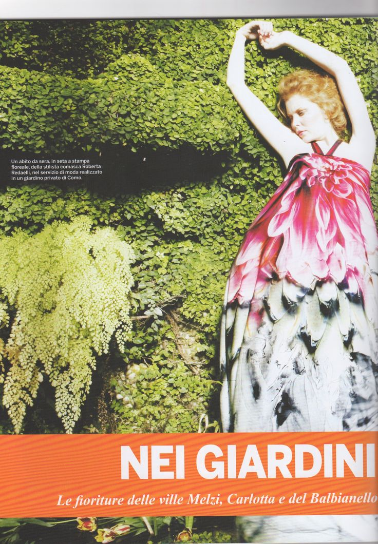 """Ed ecco un bellissimo pezzo sulle ville del Lario (Lago di Como) come fonte di ispirazione per la sua moda, scritto dalla stilista Roberta Redaelli e pubblicato su """"ENJOY COMO""""... buona lettura!! Here's a beautiful piece on the villas of the lake Lario (Lake of Como) as a source of inspiration for her fashion, written by the designer Roberta Redaelli and published on """"ENJOY COMO"""" ... enjoy the reading !! #RobertaRedaelli #fashion #moda #madeinitaly #LagodiComo #Lario…"""