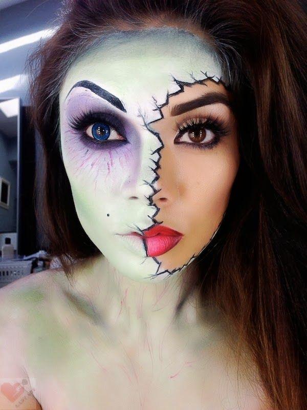 As mais belas e assustadoras maquiagens de Halloween
