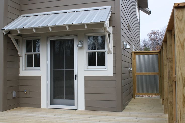 Grand Rapids Shed Roof Furniture Ideas Contemporary Entry home loans with LEED for Homes Platinum including corrugated metal plus awning beside green near metal roof along corrugated metal - Beerthrob.com Beerthrob.com