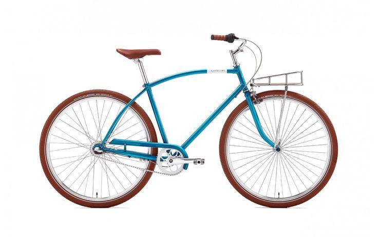 """Rower Miejski Damski Creme Glider 3S 28"""". Intrygujący, wypukły kształt ramy przyciąga niejedno oko. Model dla kobiet ceniących sobie aktywność i zdrowy tryb życia, co podkreśla żywy niebieski kolor. http://damelo.pl/rowery-miejskie-dla-twojego-mezczyzny/534-rower-miejski-damski-creme-glider-flat-3s-28.html"""