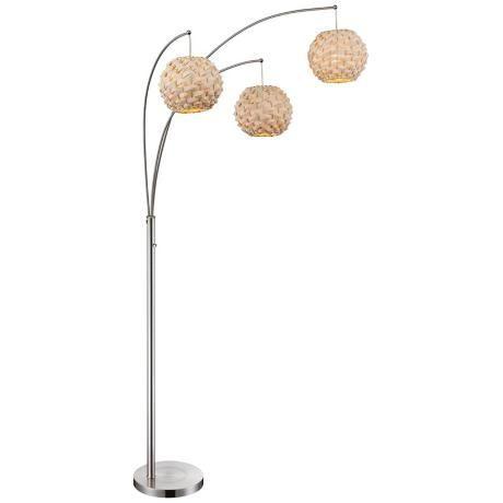 Crystal Glam Arc Lamp The Brick