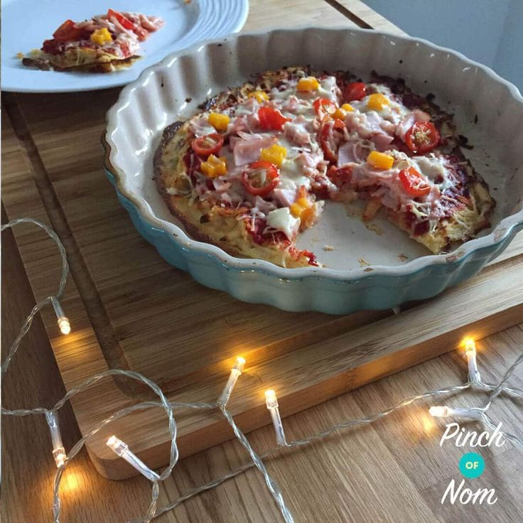 If you're like me, you'll understand that pizza isn't just a food. It's a way of life! So we made this Slimming World friendly Syn Free Hash Brown Pizza