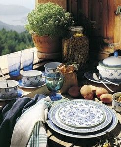 Villeroy and Boch place setting