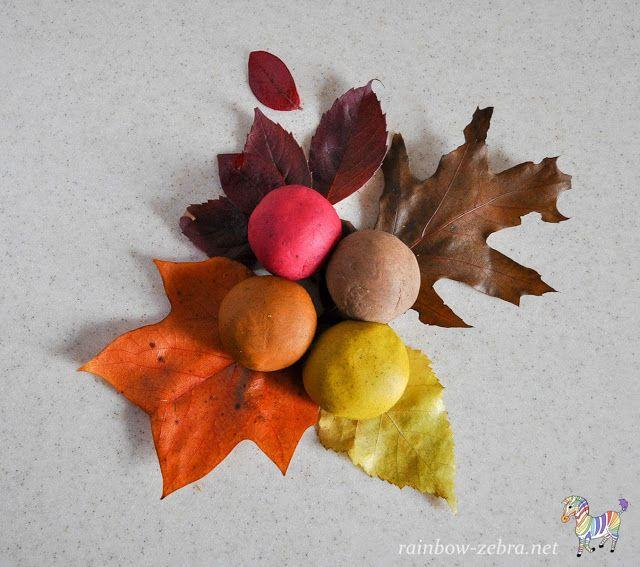 Осеннее тесто для лепки