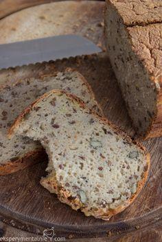 Chleb bezglutenowy – prosty przepis - gluten-free bread - in Polish - use Google Translate