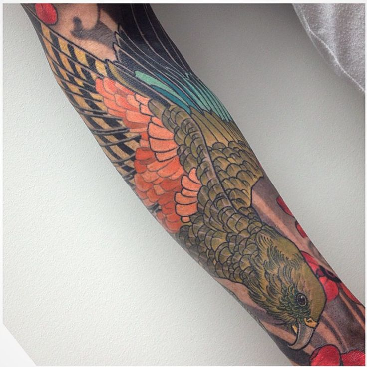 Kea finished - Sacred Tattoo