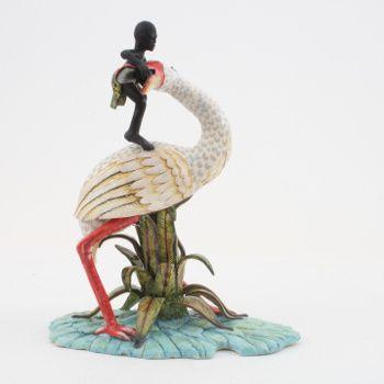 Ardmore Ceramics: Spoonbill Rider AAA