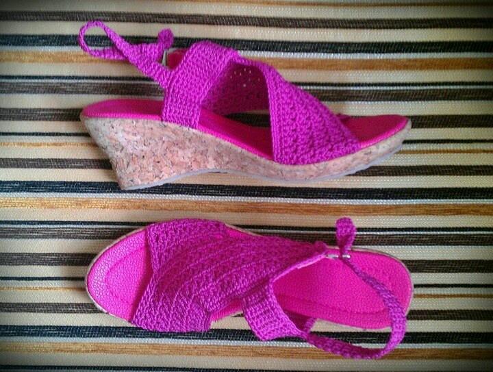 Crochett Shoes #Angel $50