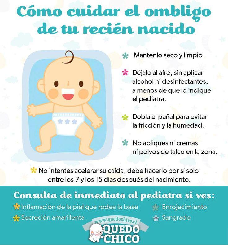 Cuidar el ombligo de tu recién nacido es sumamente importante.