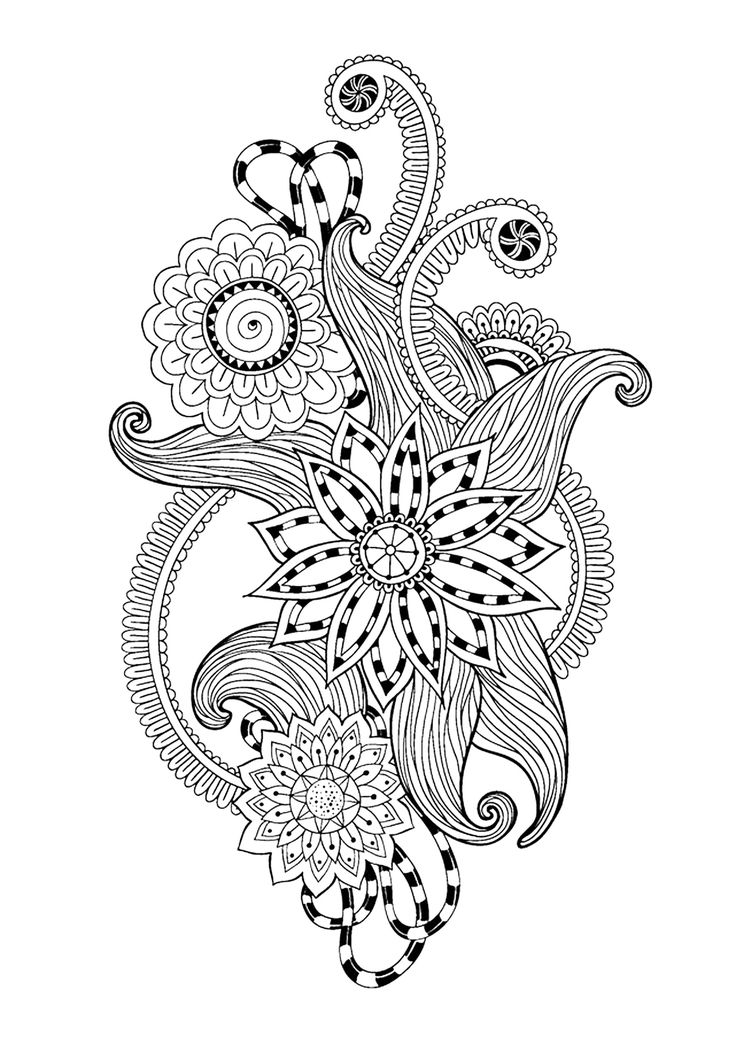 42 Best Images About Doodley Coloring Pages On Pinterest