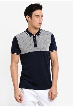 Pria > Pakaian > Atasan > Polo Shirt > Patch Work Polo Shirt > JAXON