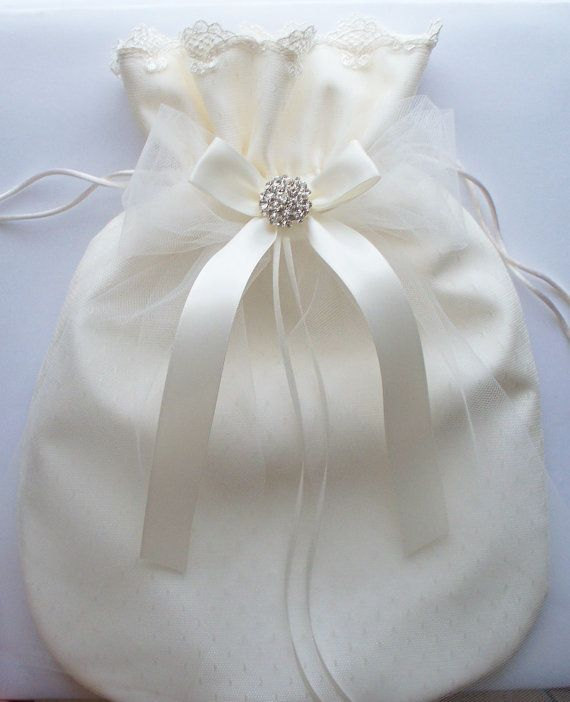 64 best Wedding money bags images on Pinterest | Money bags ...
