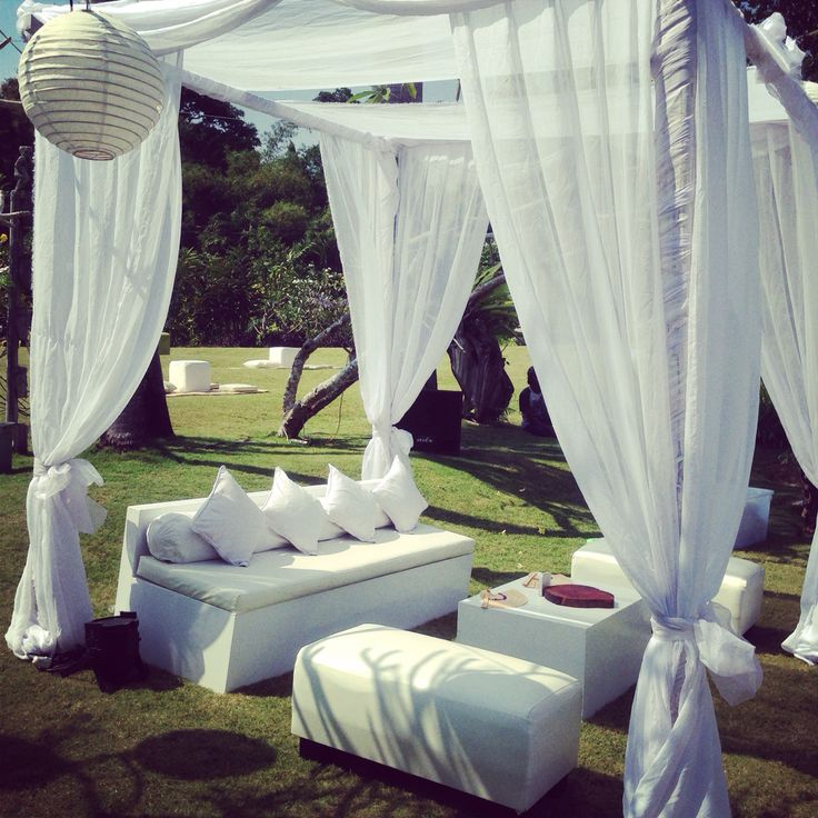 Cabanas and Chairs - email us at onestopeventsbali@gmail.com