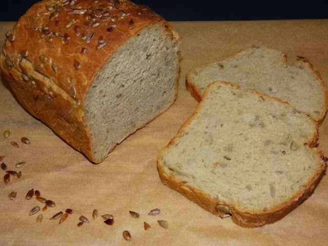 Kulinarne odsłony pati: Chleb żytni ze słonecznikiem
