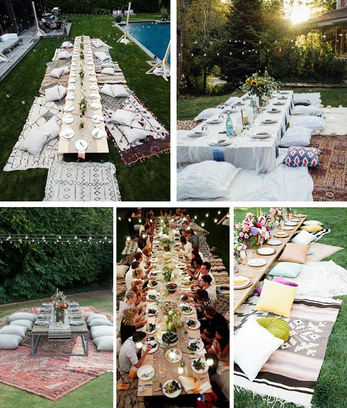 1000 ideas sobre cenas al aire libre en pinterest - Ideas cena amigos ...