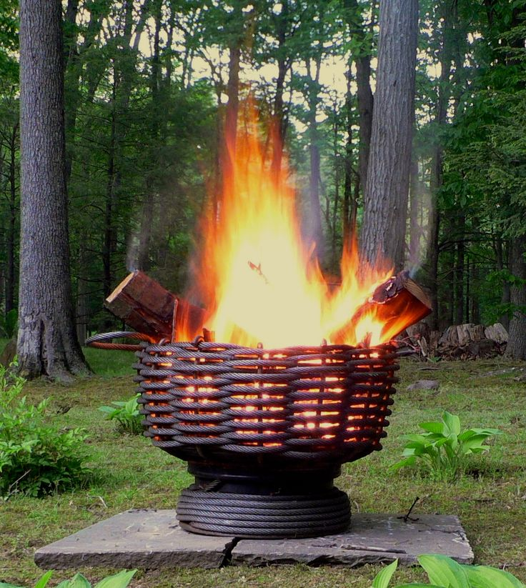 Backyard Metal Fire Pit Woodworking Projects Amp Plans