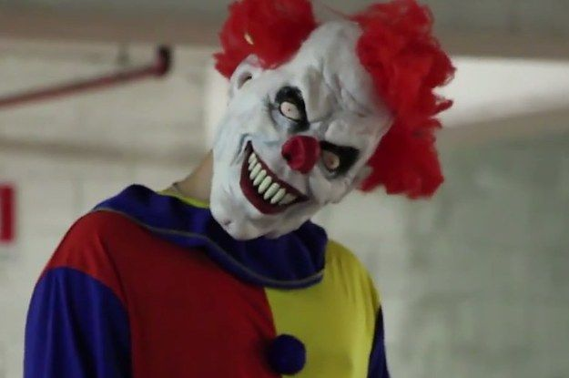 Terrifying Killer Clown Prank Returns And Remains The Worst Thing Ever