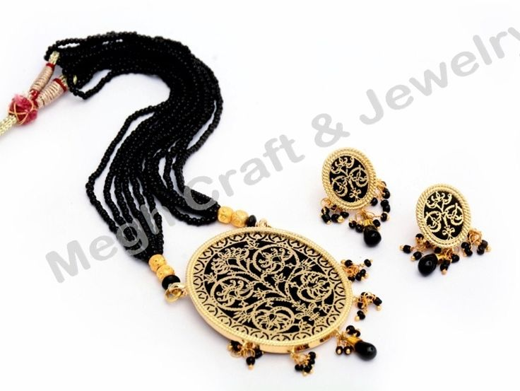 Indo western Jewellery-Thewa Art Necklace set-Bollywood Style jewellery  For Wholesale Visit@ www.indianethnicjewelry.com