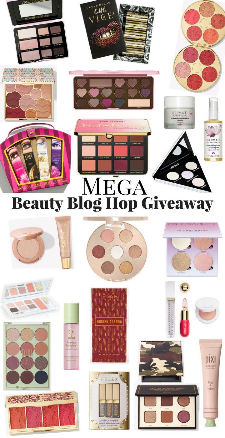 Mega Beauty Blog Hop GIVEAWAY! | SO MANY MAKEUP GIVEAWAYS! | Enter Them All