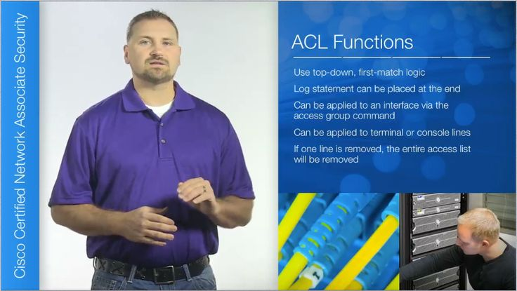 """NEW RELEASE: """"IOS ACLs"""" part of the Cisco CCNA Security Series. @Keri Cisco #CCNAsecurity - With this training you are provided with an overview of Access Control Lists, or ACLs. ACLs help to mitigate threats against a network in a variety of ways. ACLs should be tested in a test environment prior to actually applying them. http://www.learnsmartsystems.com/"""