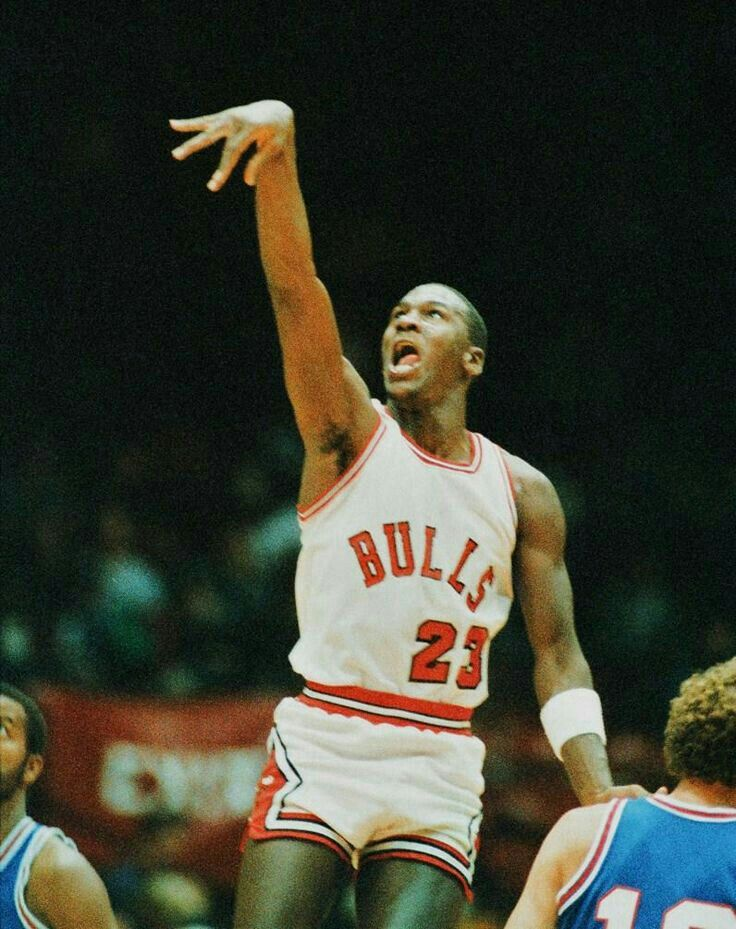 The GOAT As A Rookie Gets Off S Shot Just Before Buzzer In Chicago