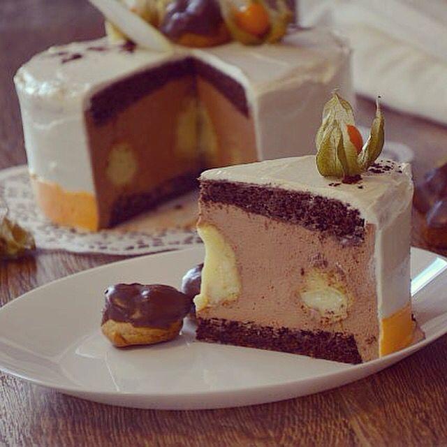 рецепт самого вкусного торта с шоколадным муссом