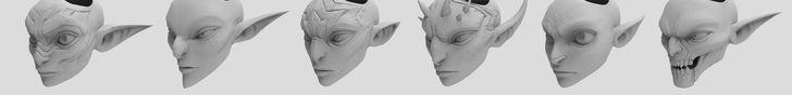 ArtStation - Wildstar works re render part 1, Hong Chan Lim