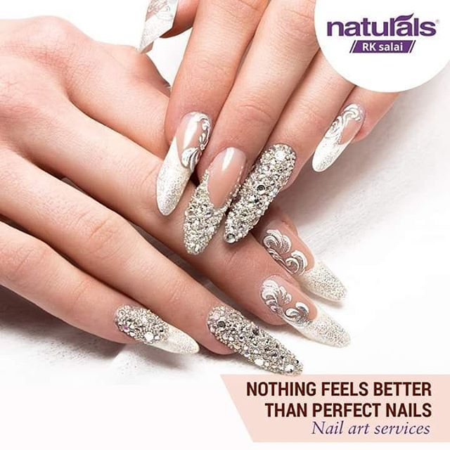 Let Your Nails Do The Talking With Our Professional Nail Art Services Nailart Nailcare Call Let You Cute Acrylic Nails Nail Art Wedding Wedding Manicure