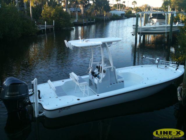 The perfect fishing bay boat. 24' Yellowfin