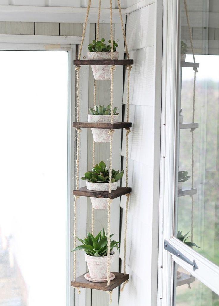 Porte-plantes à faire soi-même-sellettes et suspensions pour pots