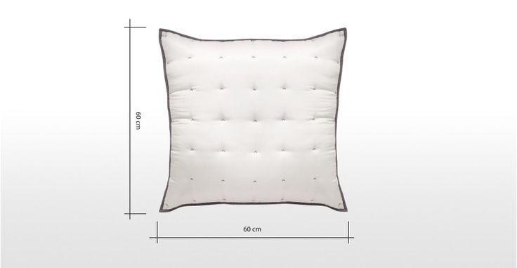 Korba Kissen 60 X 60 Cm Seide In Silbergrauem Design Das Ihr