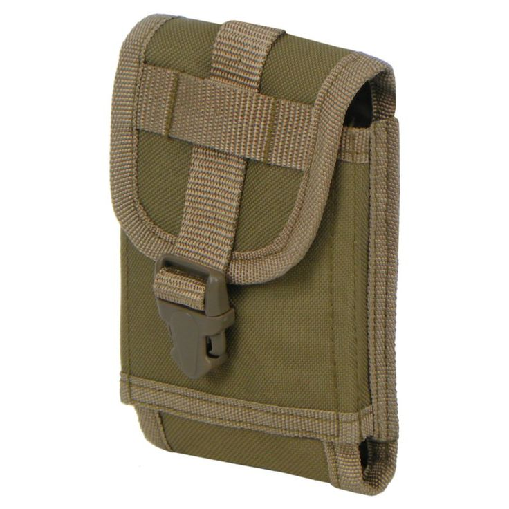 East West U.S.A. Tactical Molle Attachment Cellphone Holster Tan - RT530 - TAN