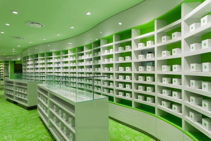 pharmacy in koukaki by klab architecture. pharmacy pharmacy design ...