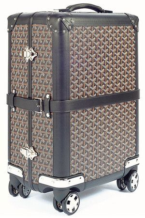 Goyard Bourget Trolley Suitcase