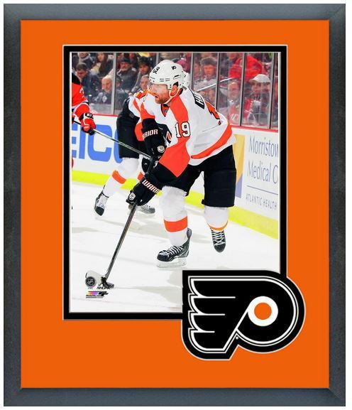"Scott Hartnell 2013-14 Philadelphia Flyers-11""x14"" Team Logo Matte/Framed Photo"