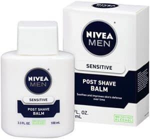 5. Nivea For Men Sensitive Post Shave Balm