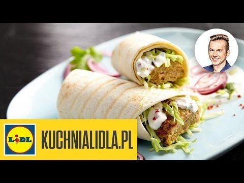 Najlepszy pikantny kebab z sosem jogurtowym - Karol Okrasa - Przepisy Kuchni Lidla - YouTube