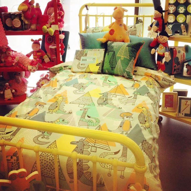 New Kas Kids Quilt Set looking cute @dcb_designs Kilsyth! @kasaustralia #kaskids #dcbdesigns #homewares #kidshomewares