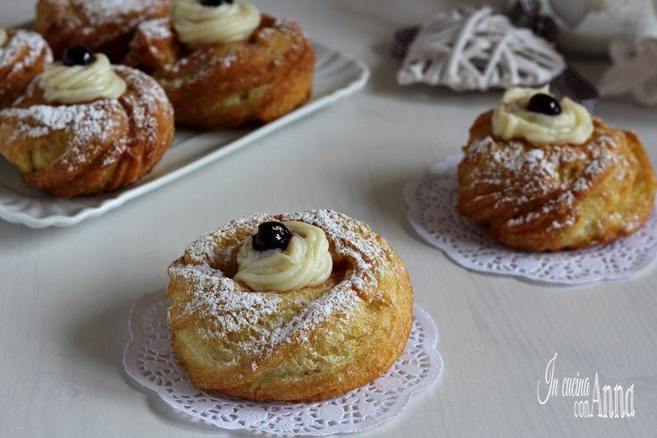 zeppole di san giuseppe con frittura perfetta non si ungono e vengono molto gonfie anche senza lievito...