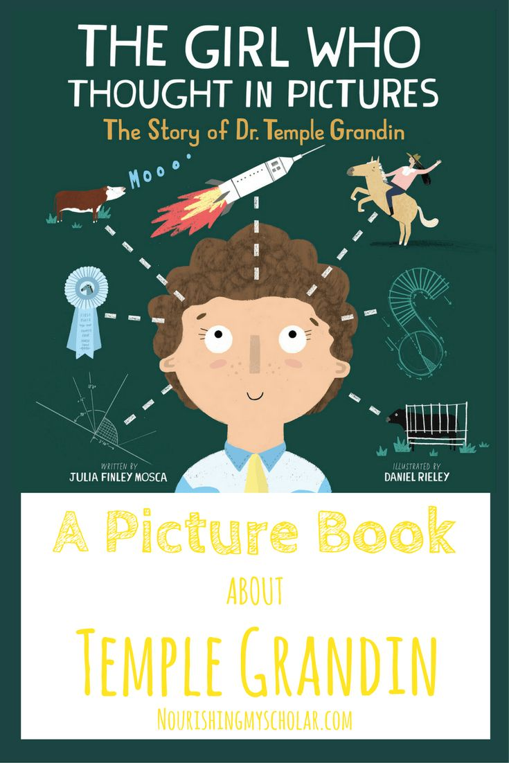 The Girl Who Thought In Pictures: A Picture Book A…