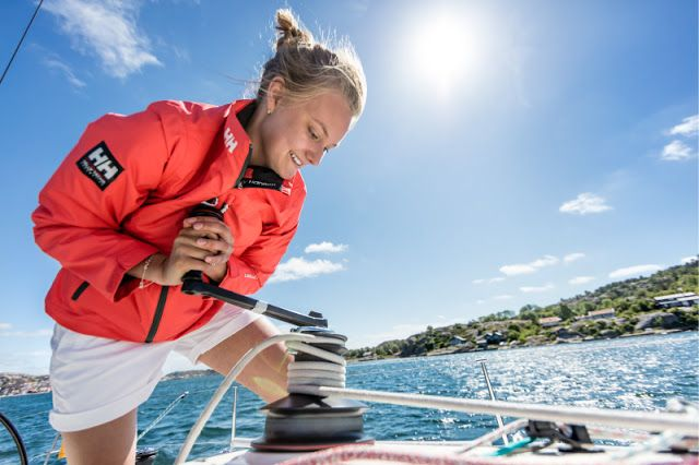 Helly Hansen boating fashion for 2016. The brand represents the optimal combination of performance, protection and style, and continues to protect and enable professionals making their living on oceans and mountains around the world.