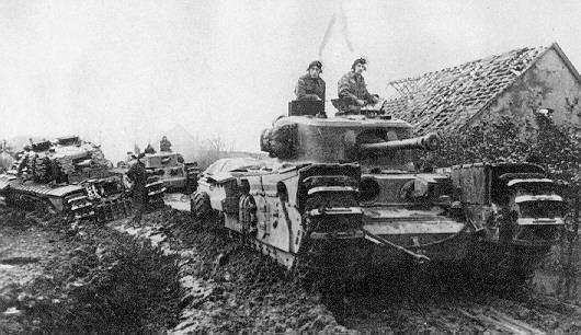 1ST Fife and Forfar Yeomanry (79th Armoured Brigade), Churchill CrocodileTank