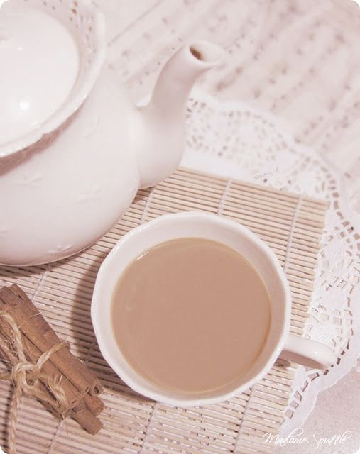 cinnamon milk tea recipe by Madame Soufflé
