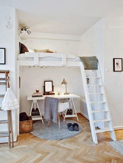 20+ beste ideeën over kleine kamers op pinterest - kleine kamer, Deco ideeën
