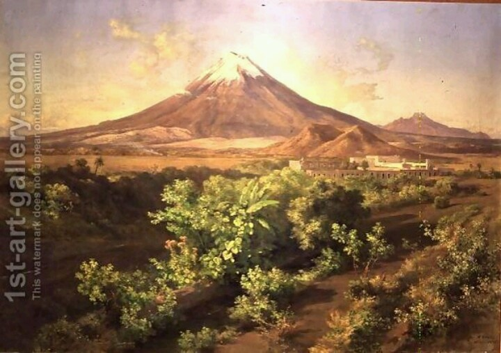 Jose Maria Velasco's painting.