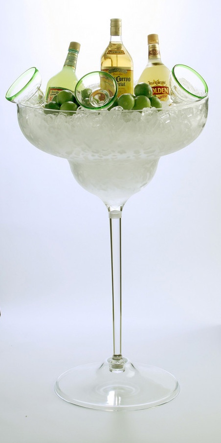 In Honor of National Margarita Day ... it's silly that they call it an ice bucket.